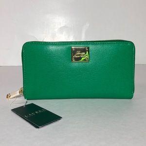 Ralph Lauren Sloan Street Zip Lawn Wallet